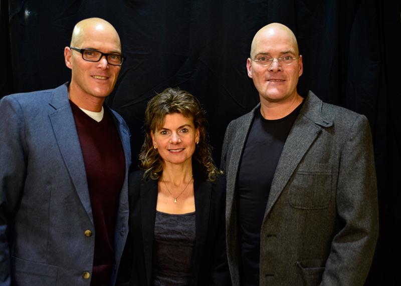 Sur la photo : Dany Bouffard, Nancy Thorne et Dany Bouffard. Crédits : iMédias